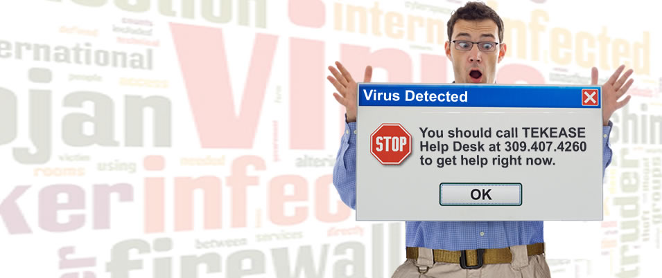 Virus and Malware<br> Removal Experts!